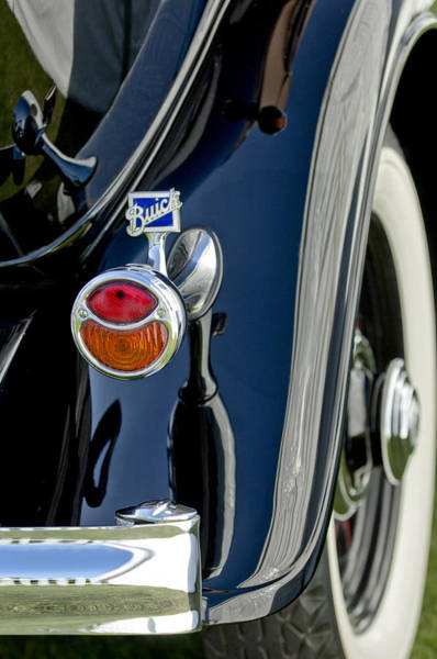 Photograph - 1932 Buick Series 60 Phaeton Taillight by Jill Reger