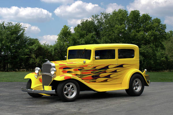 Photograph - 1932 Chevrolet Sedan Hot Rod by Tim McCullough
