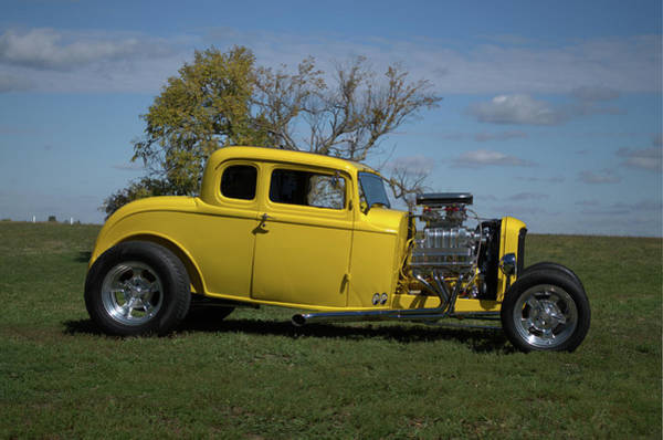 Photograph - 1932 Ford 5 Window Coupe Hot Rod by Tim McCullough