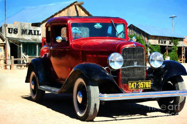Photograph - 1932 Ford Coupe by Mel Steinhauer