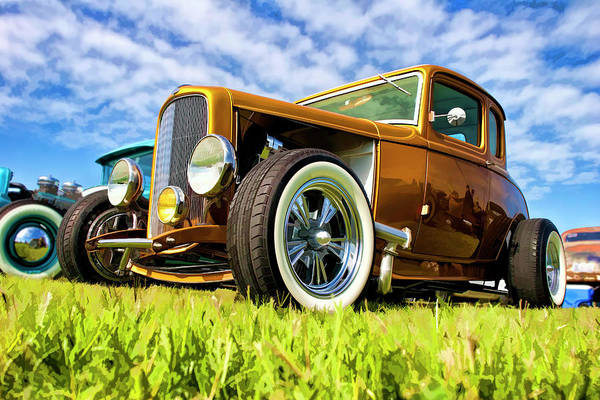 Awesome Show Digital Art - 1932 Ford Coupe by Timothy Rohman
