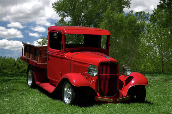 Photograph - 1932 Ford Flatbed Pickup by Tim McCullough