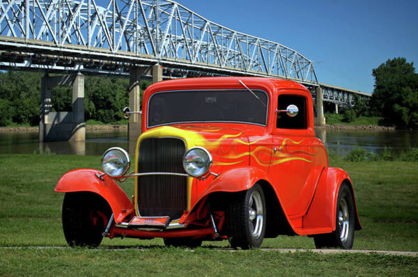Photograph - 1932 Ford Hot Rod Coupe by Tim McCullough