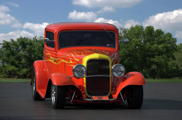 Photograph - 1932 Ford Lil Deuce Coupe by Tim McCullough