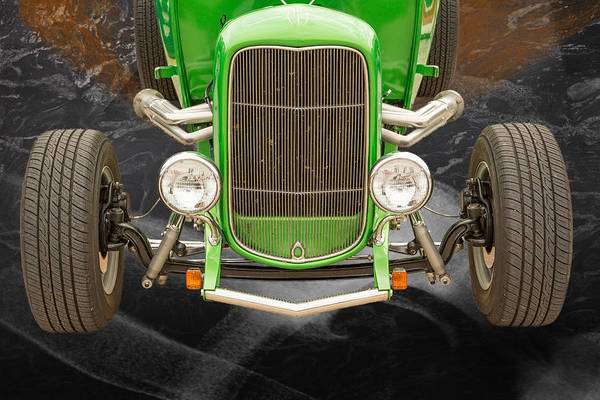 Photograph - 1932 Ford Roadster Color Photographs And Fine Art Prints 002.02 by M K Miller
