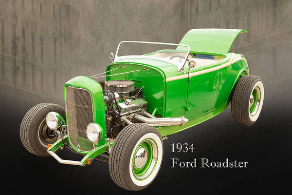 Photograph - 1932 Ford Roadster Color Photographs And Fine Art Prints 006.02 by M K Miller