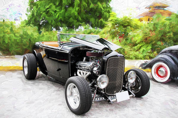 Photograph - 1932 Ford Roadster by Peggy Collins