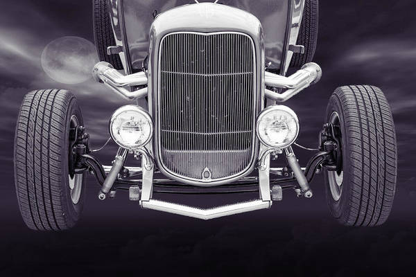 Photograph - 1932 Ford Roadster Sepia Posters And Prints 013.01 by M K Miller