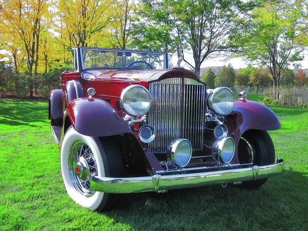 Photograph - 1932 Packard Phaeton by David King