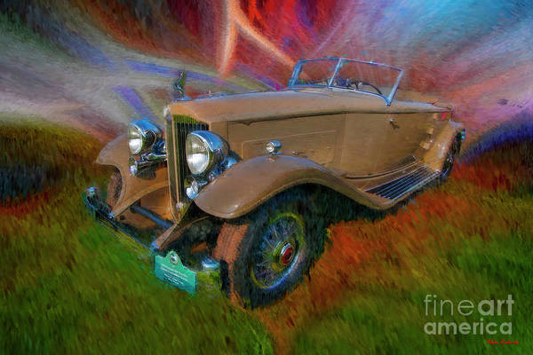 Photograph - 1932 Packard Twin Six Dietrich Converible Victoria  by Blake Richards