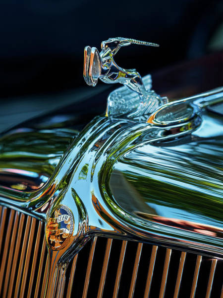 Photograph - 1933 Chrysler Imperial by Thomas Hall