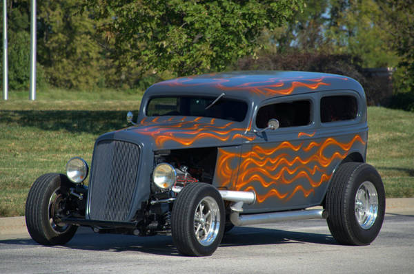 Photograph - 1933 Ford Sedan Hot Rod by Tim McCullough