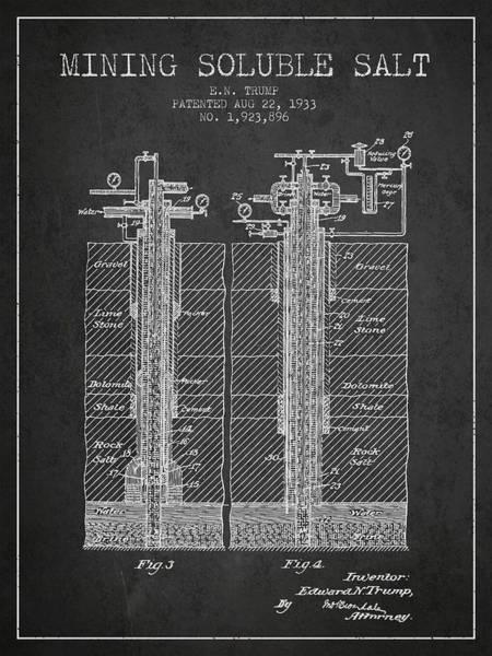 Wall Art - Digital Art - 1933 Mining Soluble Salt Patent En40_cg by Aged Pixel