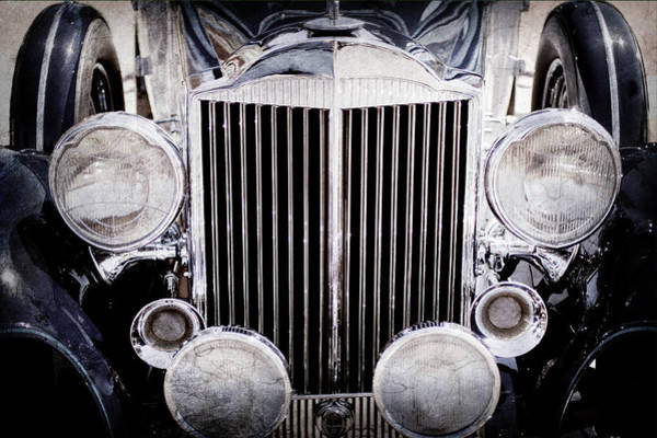 Wall Art - Photograph - 1933 Packard 12 Convertible Coupe Classic Car -0537ac by Jill Reger