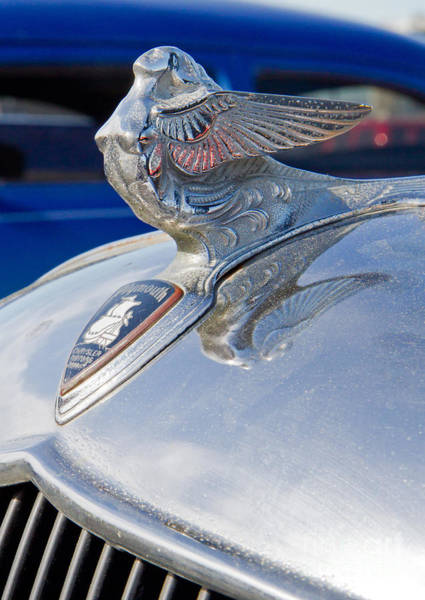 Photograph - 1933 Plymouth Hood Ornament by Kevin McCarthy
