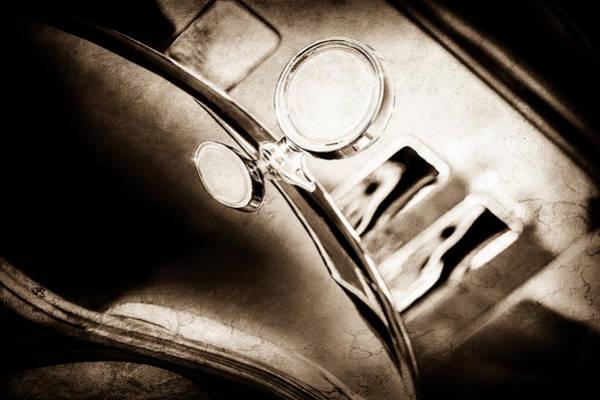 Photograph - 1933 Stutz Sv-16 Five-passenger Sedan -1061s by Jill Reger