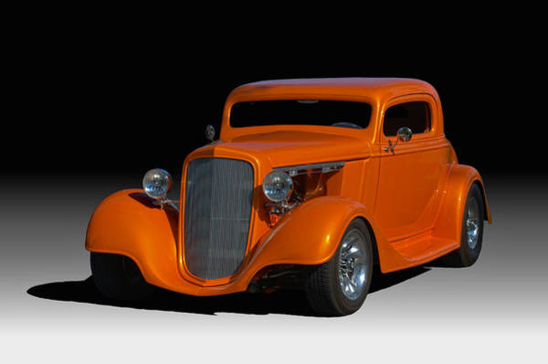 Photograph - 1934 Chevrolet Coupe by Tim McCullough