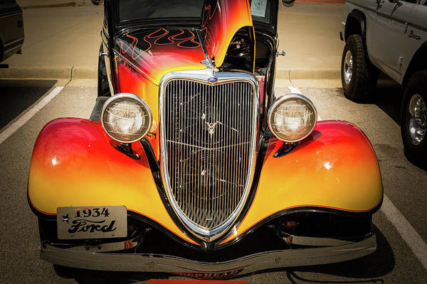Photograph - 1934 Ford Street Rod Classic Car 5545.18 by M K Miller