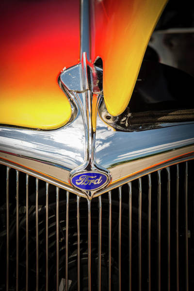 Photograph - 1934 Ford Street Rod Classic Car 5545.21 by M K Miller
