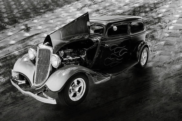 Photograph - 1934 Ford Street Rod Classic Car 5545.58 by M K Miller
