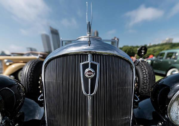 Photograph - 1934 Studebaker President Regal Roadster by Randy Scherkenbach