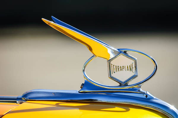 Photograph - 1934 Terraplane Hood Ornament by Jill Reger