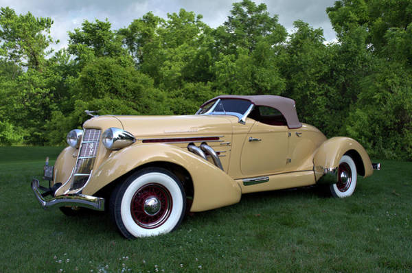 Photograph - 1935 Auburn 851 Boattail Speedster by Tim McCullough