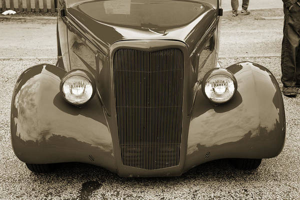 Photograph - 1935 Ford Classic Car Photograph Sepia 7158.01 by M K Miller