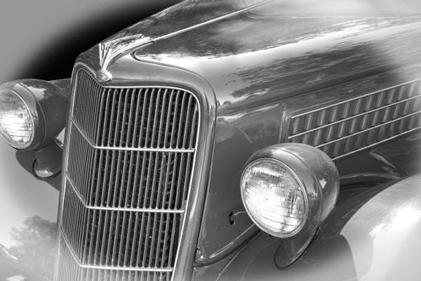 Wall Art - Photograph - 1935 Ford Sedan Grill by Nick Gray