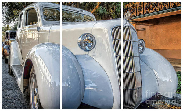 Photograph - 1935 Plymouth Coupe - Series 2 Of 3 by Mary Lou Chmura