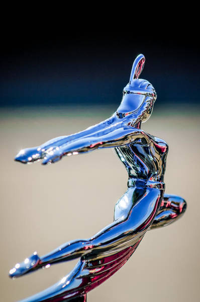 Photograph - 1935 Pontiac Hood Ornament 1 by Jill Reger