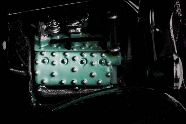 Photograph - 1935 Truck Engine by Rudy Umans