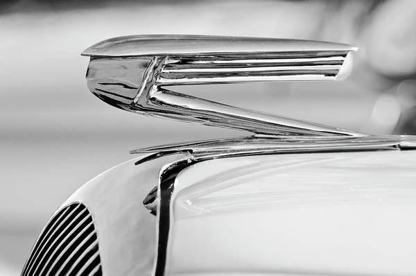 Photograph - 1936 Buick 40 Series Hood Ornament 2 by Jill Reger