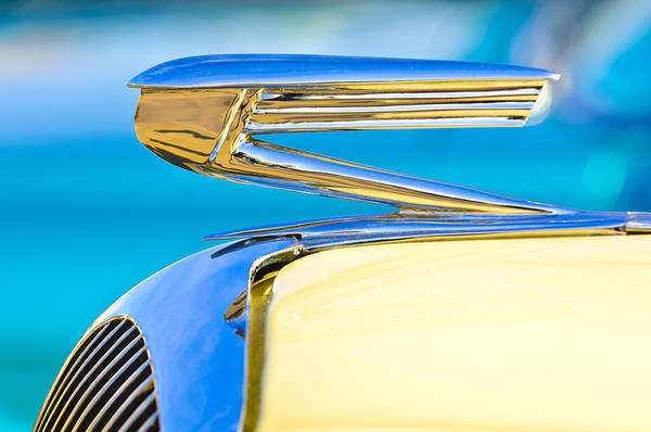Photograph - 1936 Buick 40 Series Hood Ornament by Jill Reger