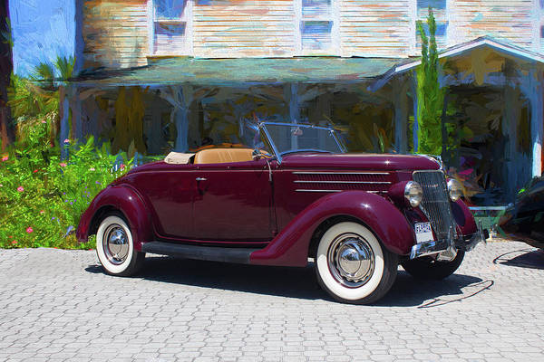 Photograph - 1936 Ford by Carlos Diaz