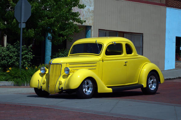 Photograph - 1936 Ford Coupe by Tim McCullough