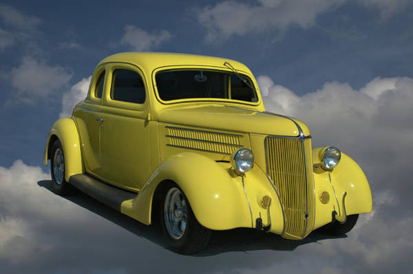 Photograph - 1936 Ford Hot Rod Coupe by Tim McCullough