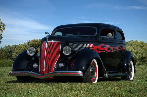 Photograph - 1936 Ford Sedan Street Rod by Tim McCullough