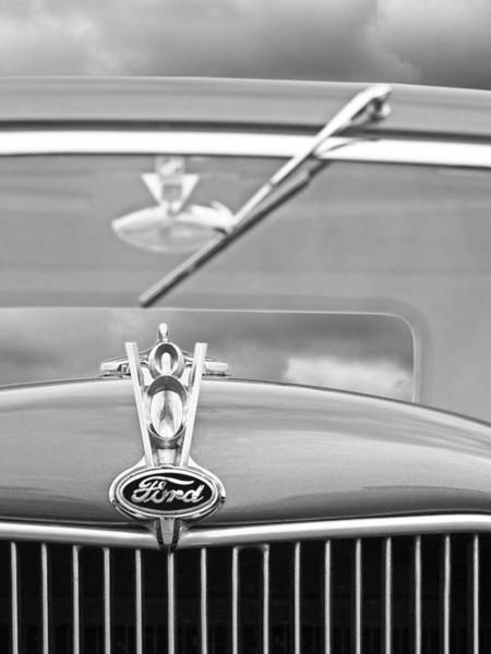 Photograph - 1936 Ford V8 Emblem by Gill Billington
