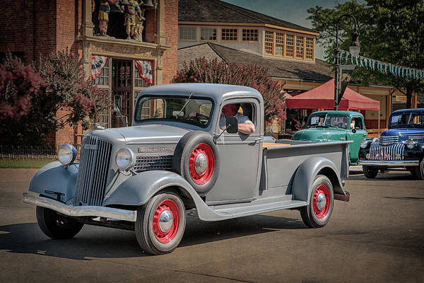 Photograph - 1936 Gmc T-14 Pickup  by Susan Rissi Tregoning