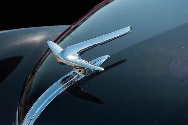 Photograph - 1936 Lincoln Hood Ornaments by Chris Flees