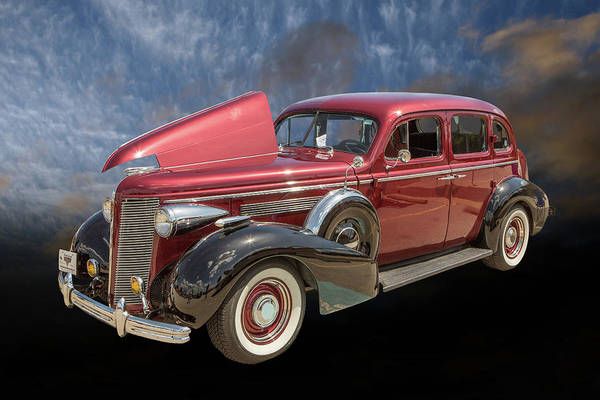 Photograph - 1937 Buick 40 Special 5541.03 by M K Miller