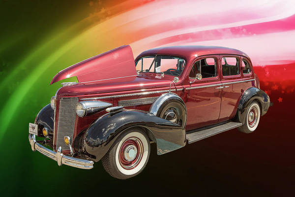 Photograph - 1937 Buick 40 Special 5541.04 by M K Miller