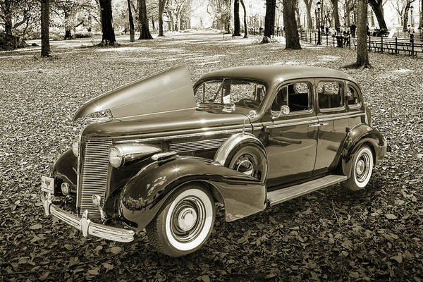 Photograph - 1937 Buick 40 Special 5541.50 by M K Miller