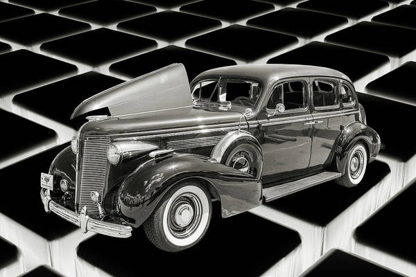 Photograph - 1937 Buick 40 Special 5541.51 by M K Miller