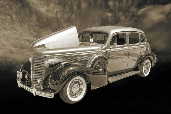Photograph - 1937 Buick 40 Special 5541.52 by M K Miller