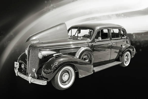 Photograph - 1937 Buick 40 Special 5541.53 by M K Miller