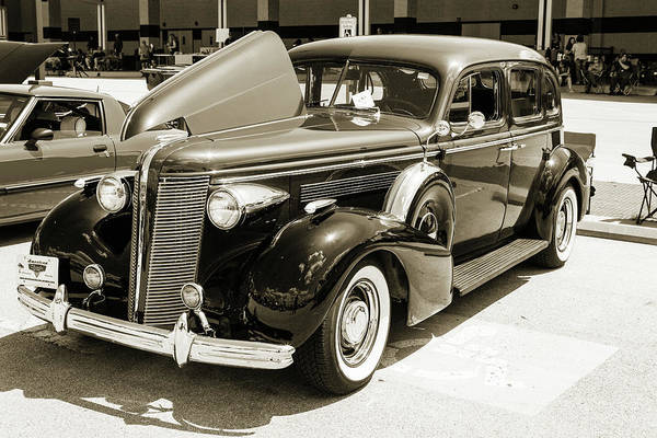 Photograph - 1937 Buick 40 Special 5541.55 by M K Miller