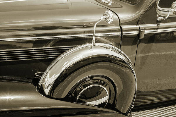 Photograph - 1937 Buick 40 Special 5541.56 by M K Miller
