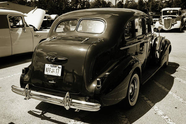 Photograph - 1937 Buick 40 Special 5541.68 by M K Miller